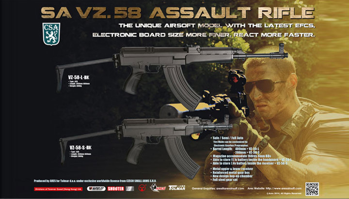 ARES vz 58