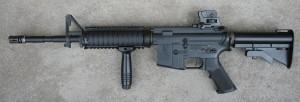 M4A1 leva strana