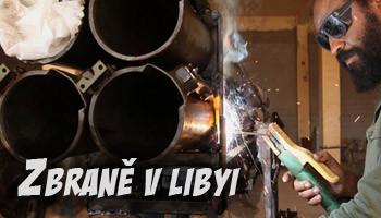 zbraně v Libyi